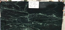Spider Green Marble Slabs, India Green Marble