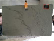 Silver Shadow Quartzite Slabs, Grey Exotic Quartzite Slabs