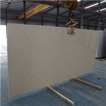 Artificial Marble Anna Beige Solid Surface Slab