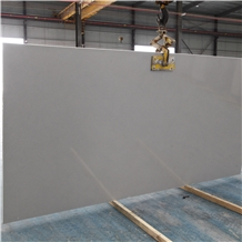 Crystal Grey Marble Artificial Solid Surface Slab