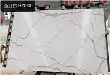 Italy Calacatta 3d Print Surface Artificial Marble