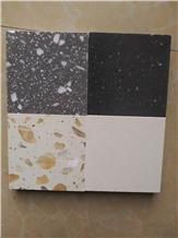Terrazzo Grey Floor Tile, Cement