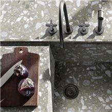 Terrazzo Inorganic Stone Slab Kitchen Tiles