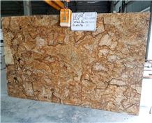 Golden Fantasy Granite Slab