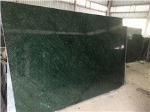 Verde Guatemala, Forest Green Marble Slabs