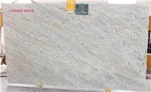 New Kashmir White Granite Slabs