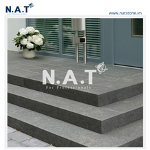 Vietnam Black Basalt Stairs/Steps for Outdoor