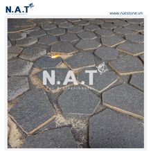 Vietnam Black Basalt Stepping Stone for Outdoor