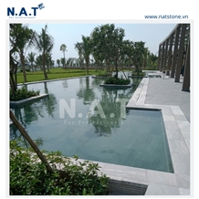 Vietnam Grey Pearl Swimming Pool Coping Pavers
