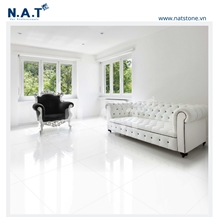 Vietnam Pure White Marble Flooring for Interiors