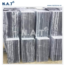 Vietnam Striped Grey Marble Tiles / Slabs