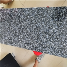 Blue Grain Granite Honed Tile, Floor Stepping
