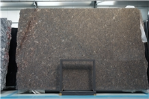 China Desert Brown Diamond Granite Slab / Floor Tile