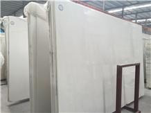 China Oriental White Marble Slab, Wall Cladding