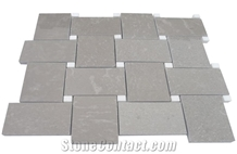 Cinderella Grey Marble Mosaic Floor Pattern Tile