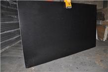 Honed China New Shanxi Absolute Black Granite Tile