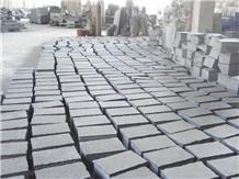 New G684 Black Granite Cube Stone Garden Pavers