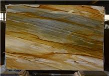 Golden Blue Quartzite Slabs