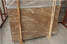 Kozo Brown Marble (Emerpador) Mouse Wall Panel