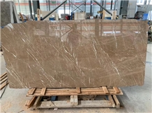 Quarry Owner Kozo Brown Marble Slab Tile, China New Stone