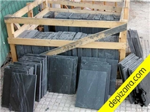 Negro Bierzo Slate Natural Floor -Wall Tiles