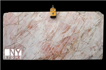 Pink Lady Lumix Quartzite Slabs