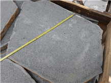 Basalt Stepping Stone, Garden Stepping Stone