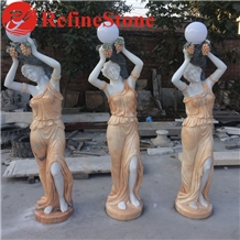 Four Season Grand Marble Sculpture Statue