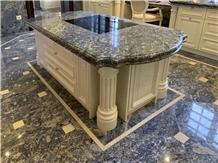 Azul Bahia Granite Tile Kitchen Floor Covering