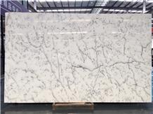 Centalla White Marble - Prefab Kitchen Slab / Floor