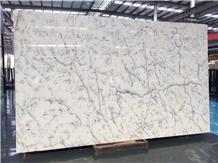 Centalla White Marble Slab (China New Stone)