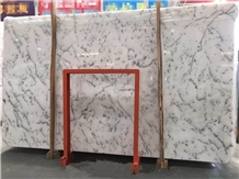China Centalla Snow White Marble Slab, Tile Available