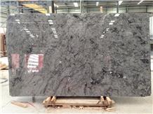 China Matrix Grey Marble Slab for Tabletop Design