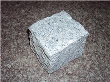 G603 Grey Granite Split Cube Stone Pavers