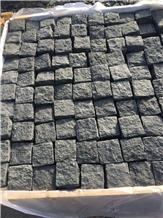 G684 Black Basalt Cube Stone Garden Pavers Exterior