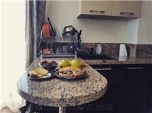 Giallo Veneziano Yellow Granite Kitchen Countertop