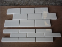 Nano Glass Crystallized Stone Brick Mosaic Tile