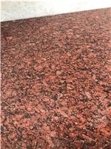 Rosso Rubino / Ruby Red Granite Slabs Flooring