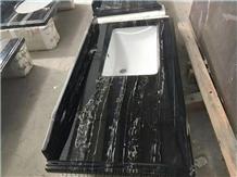 Silver Dragon Marble Bath Top,Prefab Vanity Top