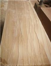 Tobacco Rainbow Sandstone Tile Honed Floor Paving