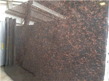 Tropical Tan Brown Granite Slab Factory Price