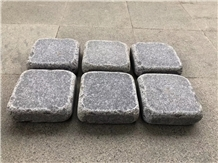 Tumbled G654 Cube Stone Pavers Graden Stepping