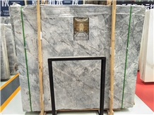 Van Gogh Grey Emperor Marble Slab Polished