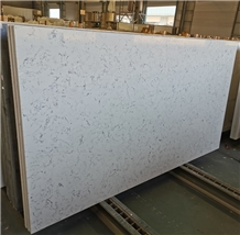 Laby White Grey Veins Artificial Quartz Slabs