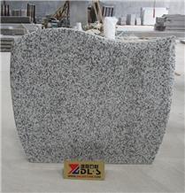 Poland Bianco White G623 Granite Headstones
