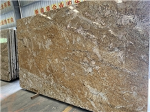 Polished Yellow Imperial Gold Granite Slabs