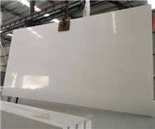 Pure White Artificial Stone Quartz Slabs