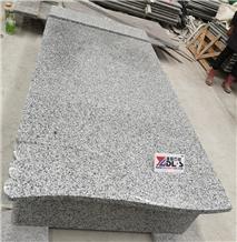 Romania Bianco White New G623 Granite Tombstone