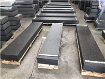 China New Black Basalt G684 Granite Paver Tiles