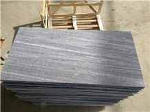 Nero Santiago Granite Tiles Factory Supply